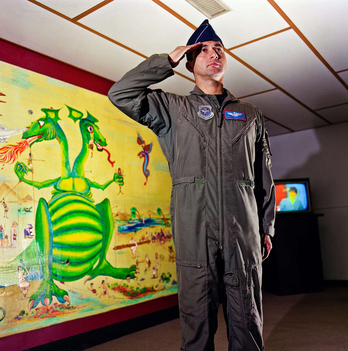 Pilot for the US National Guard