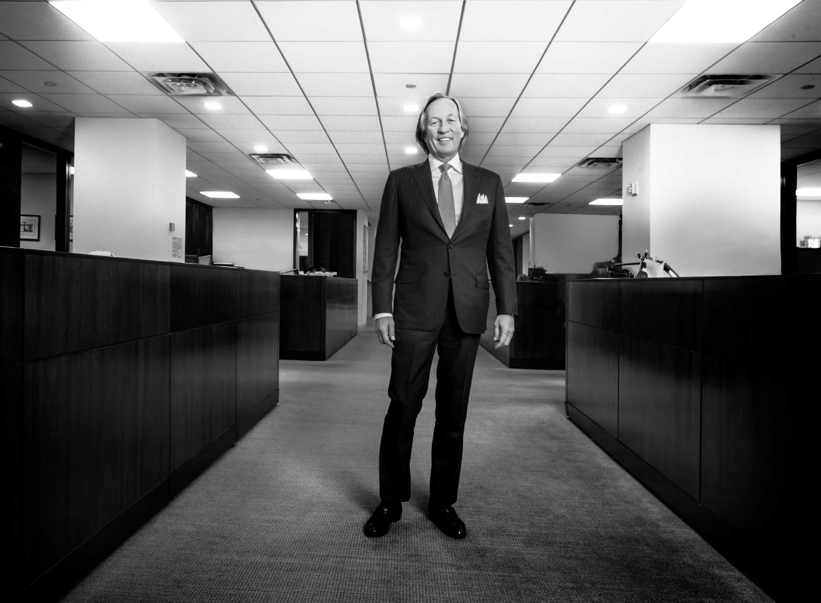 Roy Marsh CEO of Eastdil 40 west 57th street New York City for Estates Gazette publication in London, England : Portraits-Keywording : NY - Portrait Photographer Video, Architectural, Corporate Editorial Location Photography